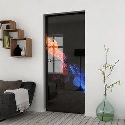 Drzwi Szklane Przesuwne 65 GR-H31 KASETA