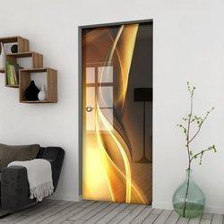 Drzwi Szklane Przesuwne 75 GR-H029 KASETA