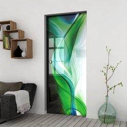 Drzwi Szklane Przesuwne 85 GR-H08 KASETA