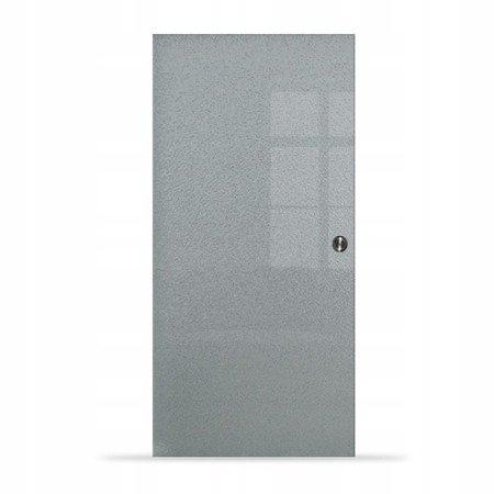 Drzwi Szklane Przesuwne 750X2095 8MM ESG MILENIUM + KASETA